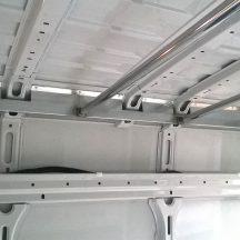 barre appendiabiti per furgoni